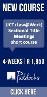 UCT Sectional Title Meetings course