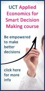 UCT Applied Economics for Smart Decision Making course