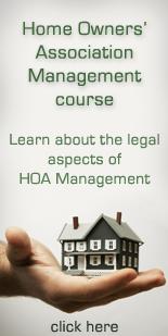 HOA Management course
