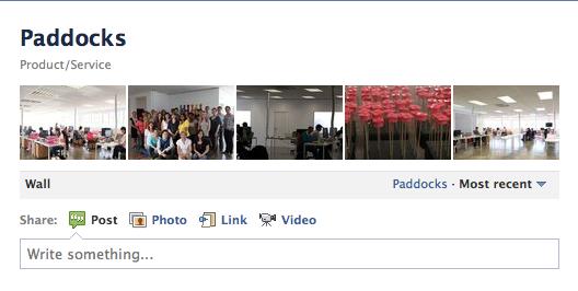Paddocks Facebook page sharing