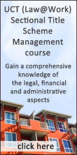 UCT (Law@work) Sectional Title Scheme Management course