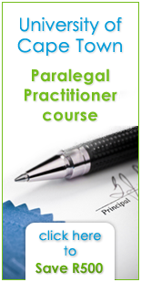 UCT Paralegal Practitioner course