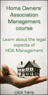 Home Owners Association Management course