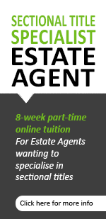 Sectional title specialist estate agent course