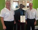 Prof Paddock, Aton Kelly and Vuyisani