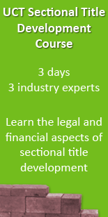 UCT Sectional Title Development Course