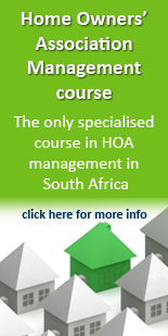 Home Owners' Association Management course
