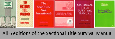 editions of sectional title survival manual