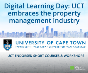 DL Day, Digital Learning Day, UCT, University of Cape Town, short courses, online courses, property management courses, Paddocks, digital learning